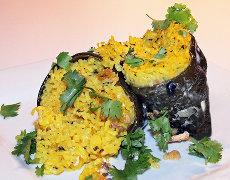 Stuffed Poblanos with Black Beans and Rice | Vegan Nook - Vegan and ...