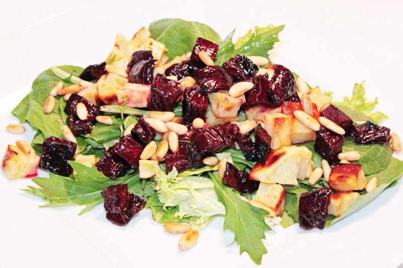 Spring Salad with Roasted Beet and Sweet Potato | Vegan Nook - Vegan ...
